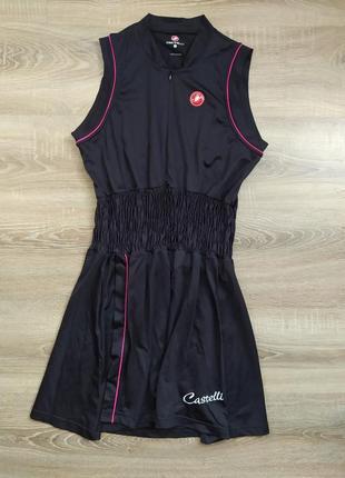 Спортивное платье castelli оригинал