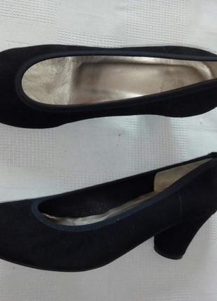 John levis замшевые туфли шкіряні туфлі р. 37 ст 24 см