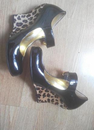 Туфли лаковые lolita botti