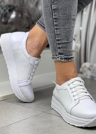 Кожаные кроссовки 🔥🔥🔥