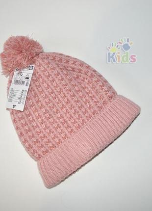 Миленька тепла шапка на флісі kiabi 10-12