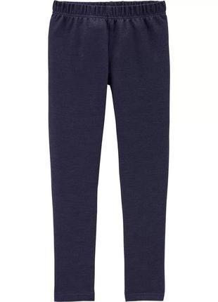 Качественные джинсовые леггинсы картерс для девочки