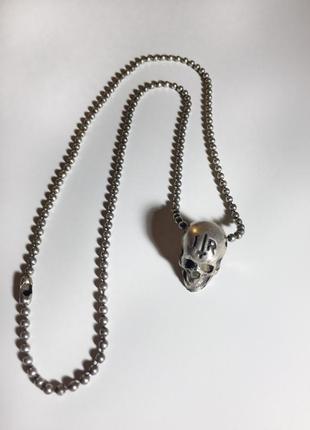 Кулон / цепочка / украшение череп
