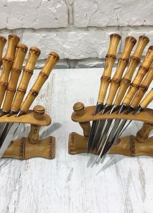 Набор десертных ножей gml rostfrei, антиквариат, винтаж