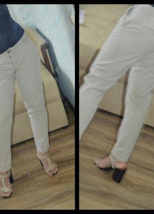 Штаны штани брюки трикотажные укороченные next р. 46-50