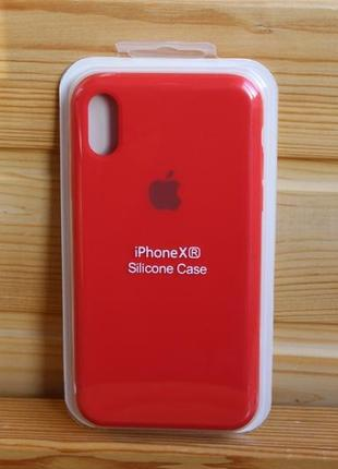 Чехол iphone xr silicone case айфон (стекло в подарок)