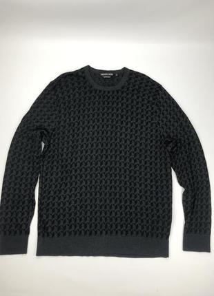 Michael kors extrafine merino кофта свитер оригинал мериносовая шерсть