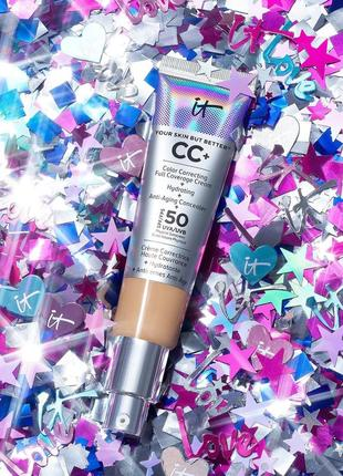 Cc-крем it cosmetics