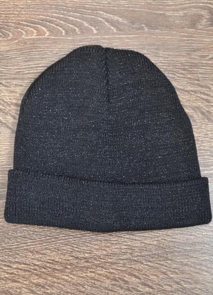 Трендовая теплая шапка в блестках ovs ® beani hats