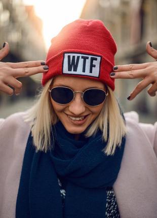 Теплая трендовая шапка tally weijl ® ahabean beani hats