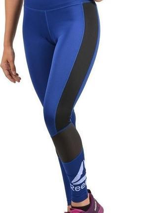 Спортивные лосины с новых коллекцый reebok ® workout logo legginsy
