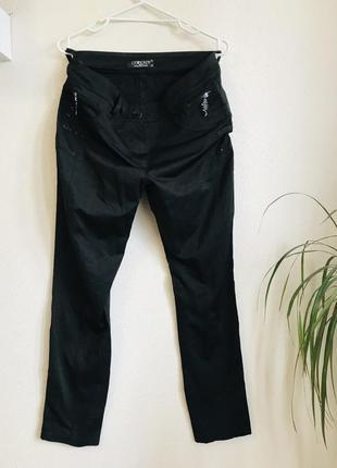 Жіночі атласні брюки