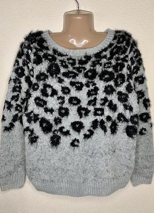 Теплый свитерок с шерстью