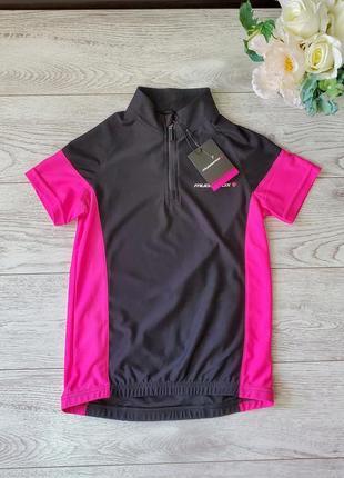 Спортивная футболка на девочку 11-12 лет