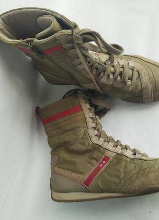 Спортивные ботинки высокие кроссовки кеды esprit