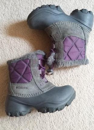 Зимние ботинки каламбия
