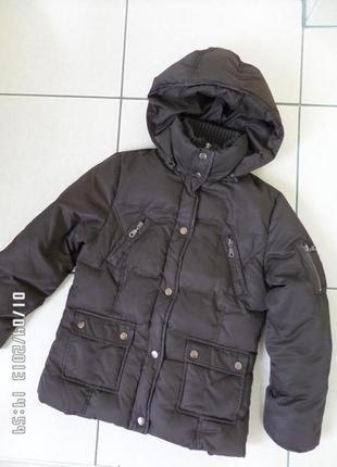 Campus пуховик куртка зимова 134-140см