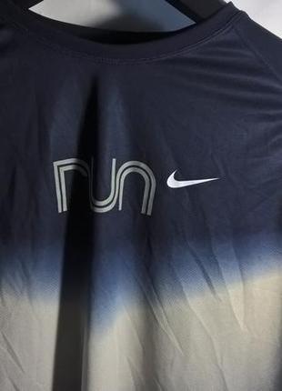 Nike run термо кофта гольф в интересной расцветке fitdry