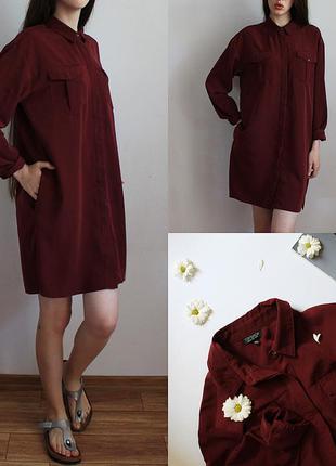 Платье- рубашка от topshop