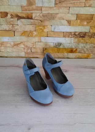 Туфли от el naturalista натуральная кожа  размер 37