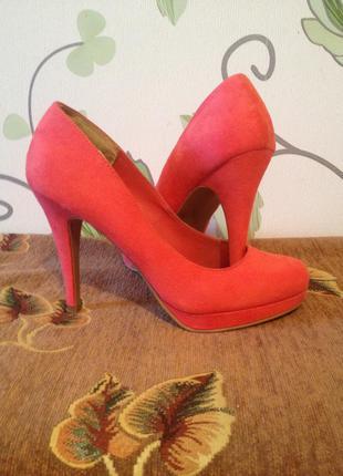 Туфли new look 38 р. 25 см по стельке