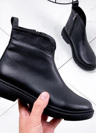 Ботинки 38 39 кожа