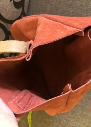 Замшевая сумка3 фото