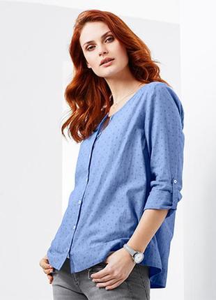 Рубашка блуза размер 44-46 наш tchibo тсм