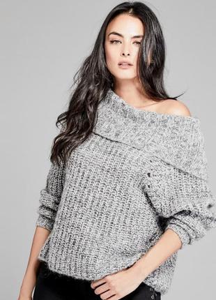 Шерстяной свитер guess marciano оригинал