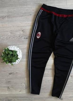 Adidas футбольные спортивные штаны с логотипом известной футбольной