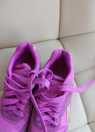 Reebok  кроссовки на девочку5 фото
