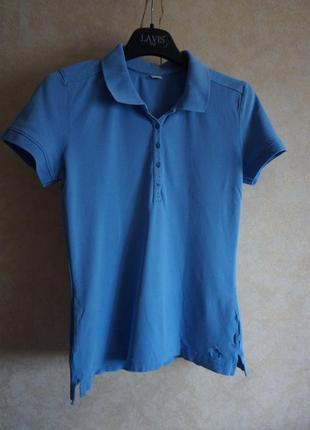 Натуральная хлопоковая футболка поло  s.oliver