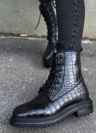 Ботинки питон zara