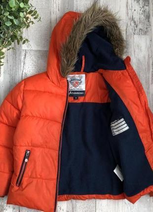 Куртка зима 122р пуховик