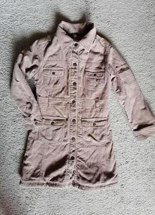 Стильное пальто утепленное everywear, на 8 лет, качество