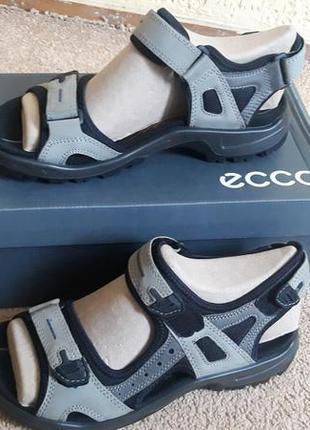 Ecco offroad, оригинал. сандалии босоножки мужские. португалия. натуральый нубук.