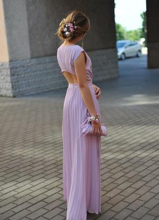 Платье лиловое выпускное, вечернеее продам срочно