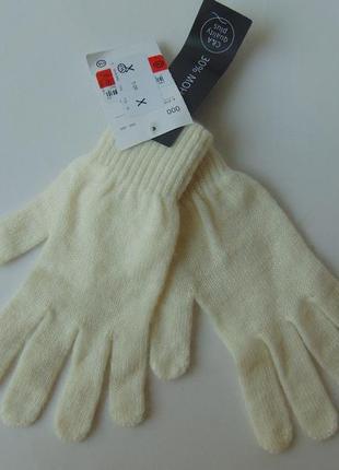 Перчатки шерсть мохер c&a германия