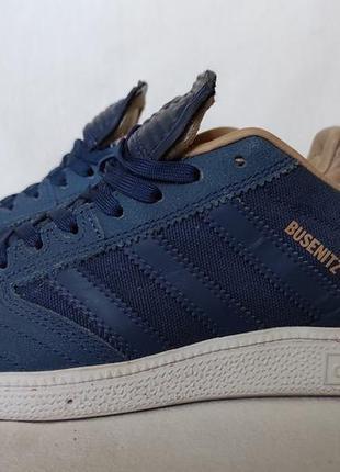 Кроссовки adidas originals busenitz pro mystery blue. 40.5