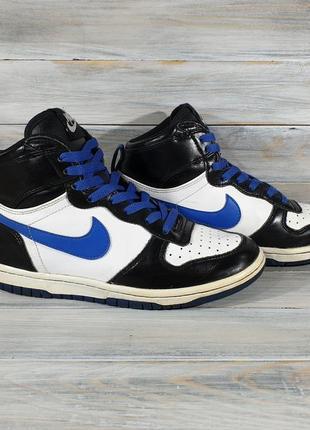 Nike dunk high оригинальные кросы оригінальні кроси