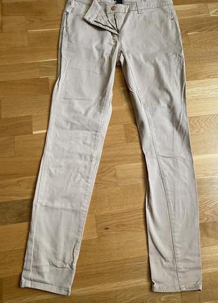 Светлые skinny джинсы h&m