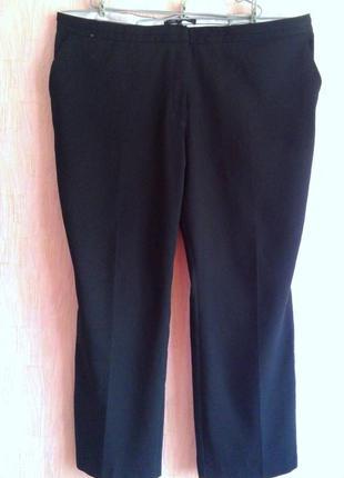 Черные брюки next tailoring 24 uk 58 коллекция 2016 г.