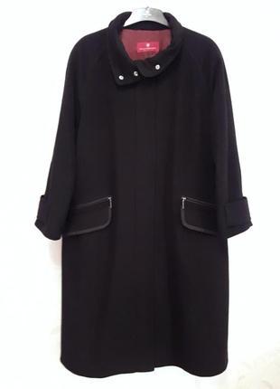 Элегантное осеннее пальто, 50-52-54?, шерсть, кашемир, полиамид, германия