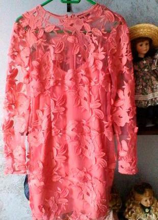 Красивое летнее платье фирмы topshop