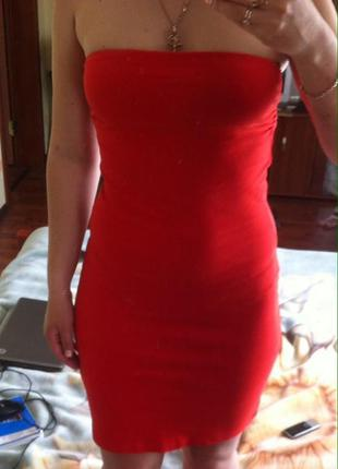 Платье - бюстье, платье без бретелей