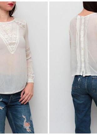 Блуза с пуговками