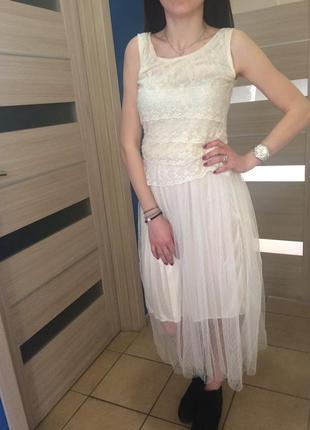 Платье летнее topshop,скидки на все 50% до 31 мая