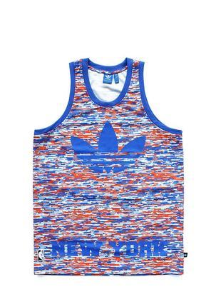 Adidas new york knicks 46 nba shirt принтована баскетбольна майка