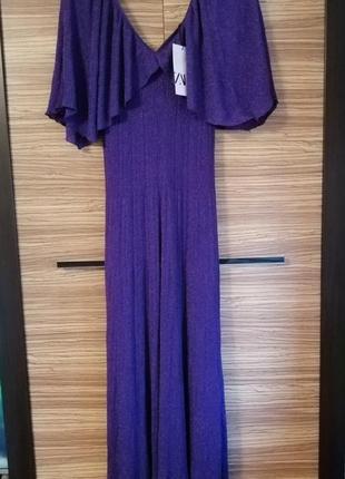 Роскошное вечернее платье zara