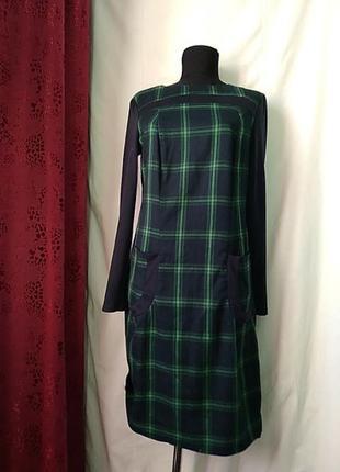 Платье теплое с карманами 48 размер